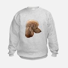 Dogs poodle Sweatshirt