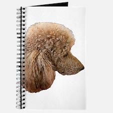 Unique Red poodle Journal