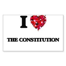 I love The Constitution Decal