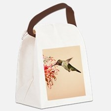 Annas Hummingbird Canvas Lunch Bag