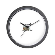 1776- Our Founding Fathers took a stan Wall Clock