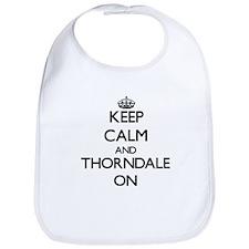 Keep calm and Thorndale Illinois ON Bib