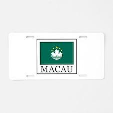 Macau Aluminum License Plate