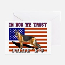 In Dog We Trust Greeting Cards (6)