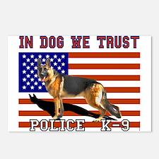In Dog We Trust Postcards (8)