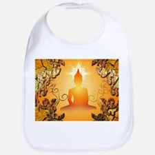 Buddha in the sunset Bib