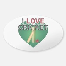 Love Cricket Decal