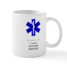 Allergic To Liberal Bovine Manure Mugs