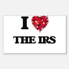 I love The Irs Decal