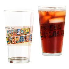 Queen Village Drinking Glass