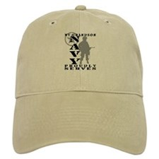 Grandson Proudly Serves - NAVY Baseball Cap