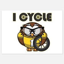 Cycling Owl Invitations