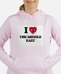 I love The Middle East Women's Hooded Sweatshirt