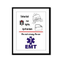 Not Crazy EMT Framed Panel Print