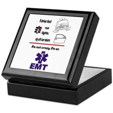 Not Crazy EMT Keepsake Box
