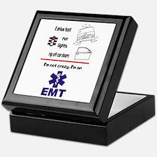 Not Crazy EMT Keepsake Box