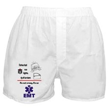 Not Crazy EMT Boxer Shorts