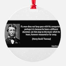Unique Thoreau Ornament