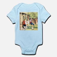 A Royal Invitation in Wonderland Infant Bodysuit