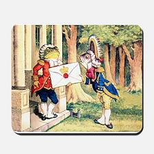 A Royal Invitation in Wonderland Mousepad