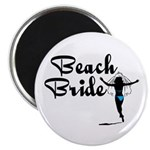 Beach Bride Magnet