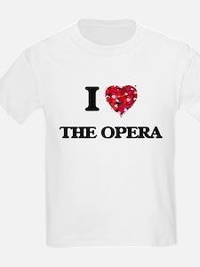 I love The Opera T-Shirt