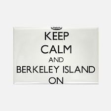 Keep calm and Berkeley Island New Jersey O Magnets