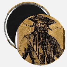 Cute Blackbeard Magnet