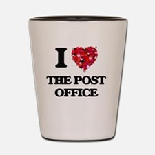 I love The Post Office Shot Glass