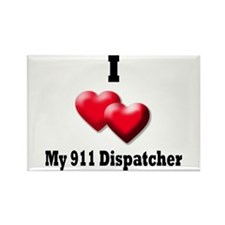 I Heart Dispatcher Magnets
