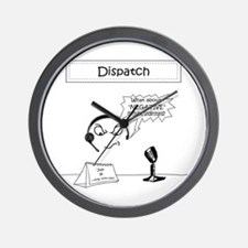 Unique Police dispatcher Wall Clock