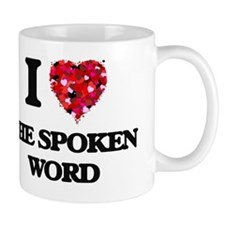 I love The Spoken Word Mug