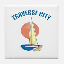Traverse City Tile Coaster