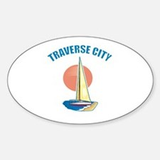 Traverse City Oval Decal