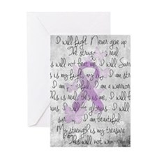 The Fight Greeting Cards
