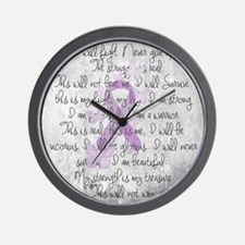 The Fight Wall Clock