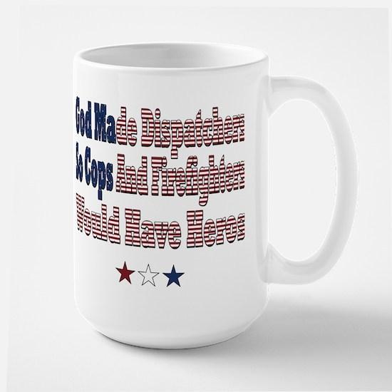 Hero Dispatchers Large Mug