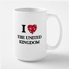 I love The United Kingdom Mugs