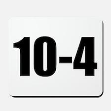 10-4 Mousepad