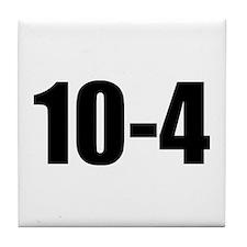 10-4 Tile Coaster