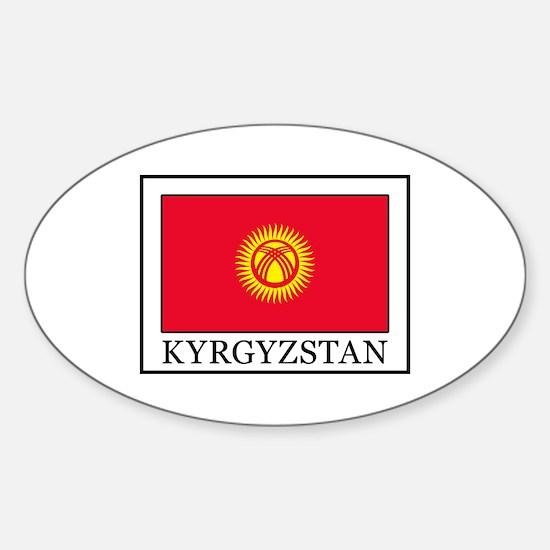 Kyrgyzstan Decal