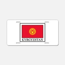 Kyrgyzstan Aluminum License Plate