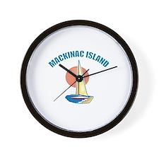 Mackinac Island Wall Clock
