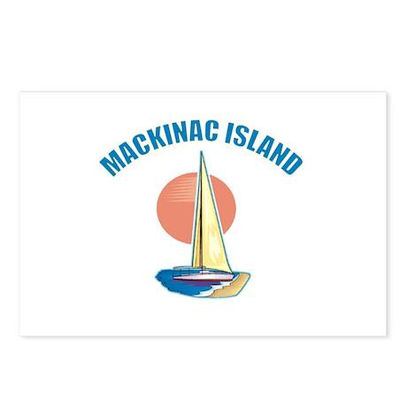 Mackinac Island Postcards (Package of 8)