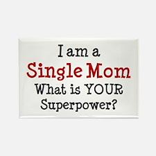 single mom Rectangle Magnet