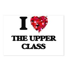 I love The Upper Class Postcards (Package of 8)