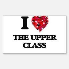 I love The Upper Class Decal