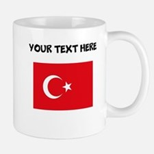 Custom Turkey Flag Mugs