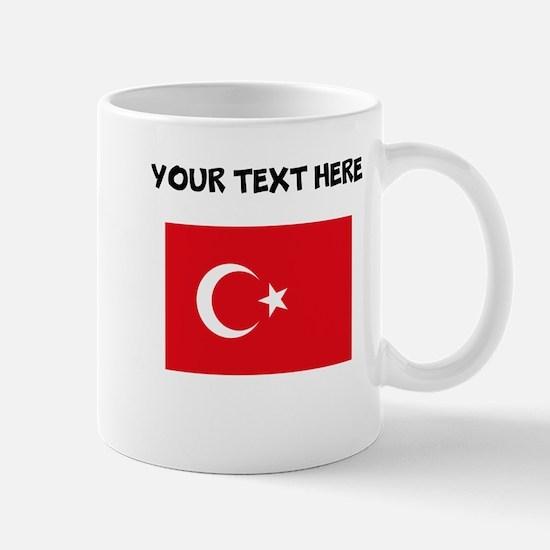 Custom Turkey Flag Mugs
