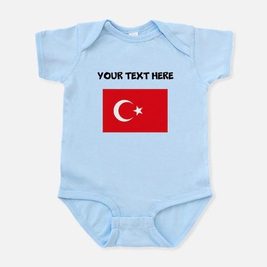 Custom Turkey Flag Body Suit